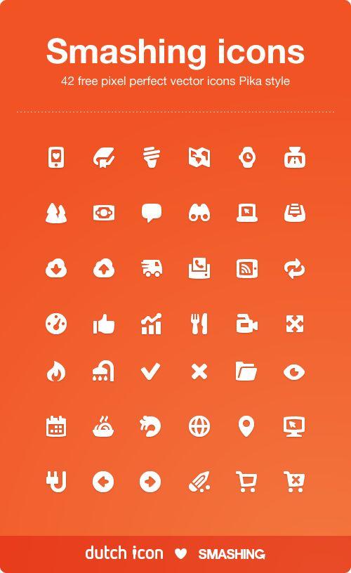 Chunky Pika Icon Set (42 Icons, PNG, AI) | Smashing Magazine