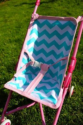 How to sew a replacement baby doll stroller seat @Brandy Simper {ThePrudentHomemaker.com} baby
