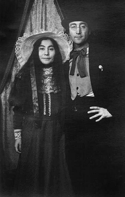 Dress up with John and Yoko