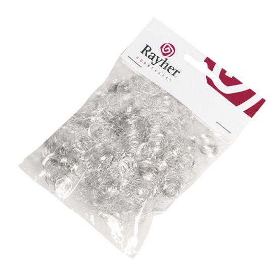 Engelenhaar krul zilver 50 gram. Dit zakje bevat ongeveer 50 gram zilveren…