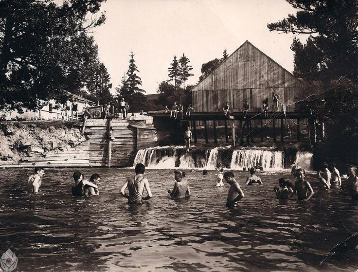 Foto starého kúpaliska v Kežmarku   Album fotografii Nowego Targu