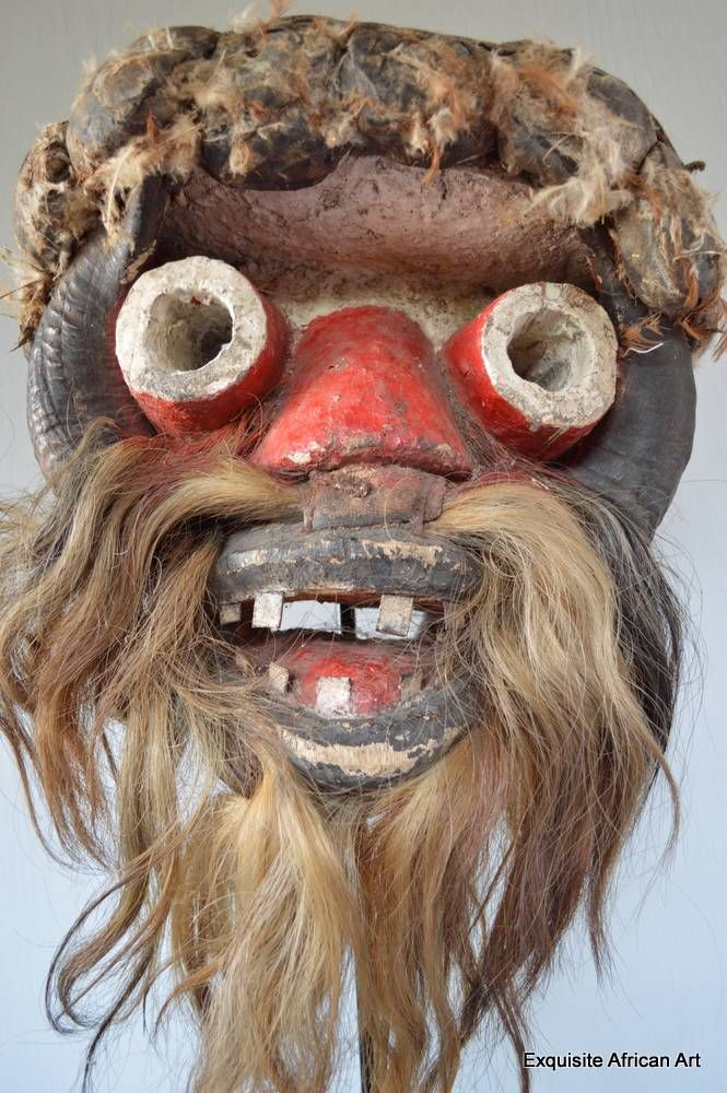 Guere War Mask - Exquisite African Art