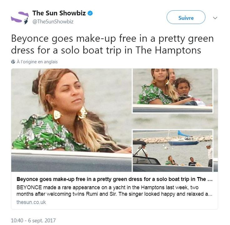 Actu : Beyoncé sans maquillage : la jeune maman sublime au naturel (photos)