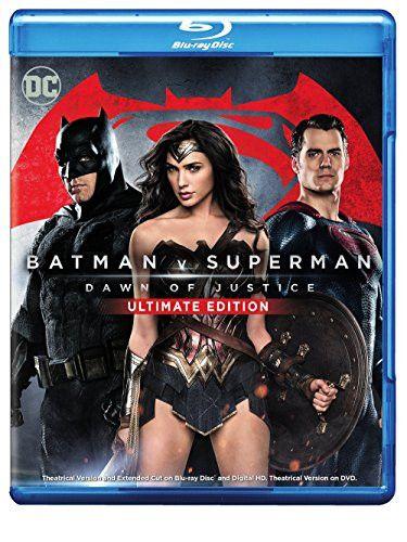 Batman V Superman: Dawn of Justice Ultimate Edition (Blu-ray + DVD + Digital HD UltraViolet Combo Pack)