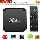 X96 mini Android 7.1 1G 8G 4K 3D UHD TV Box Media Player S905W Quad-core  Z8U0M