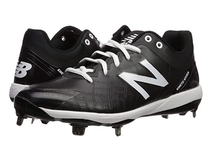 New Balance 4040v5 Metal Black White Men S Cleated Shoes Run The Bases All Day Long In The Durable New Balan In 2020 Sneakers Men Fashion Sneakers Men Athletic Shoes