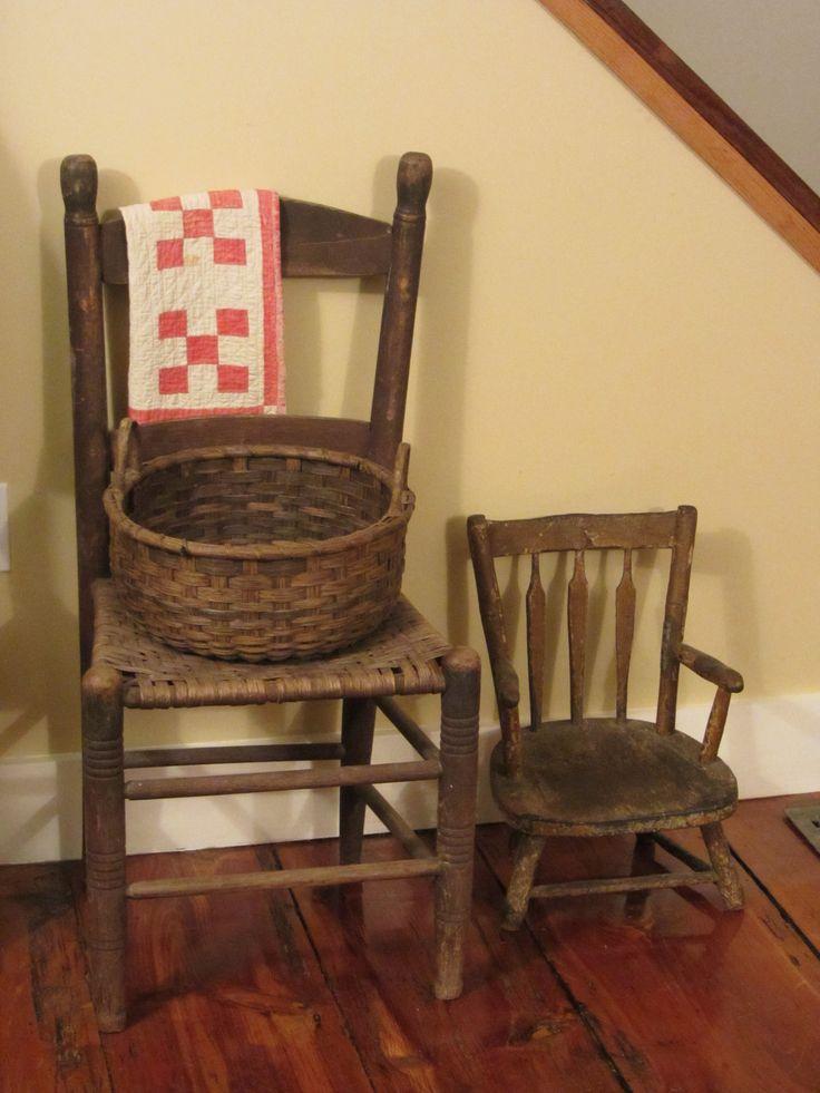 Big Chair, Little Chair. Primitive ...
