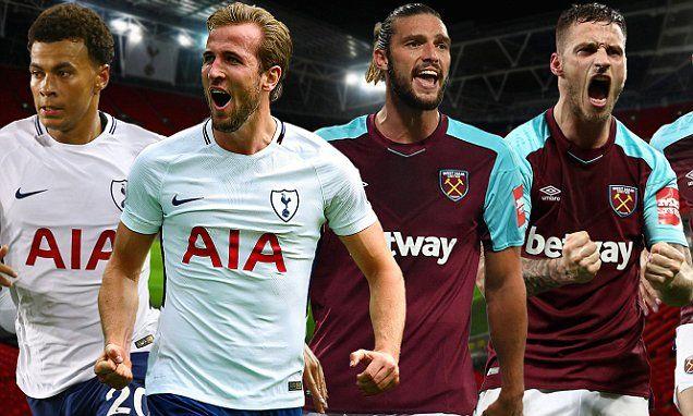 Tottenham vs West Ham LIVE: EPL score at Wembley Stadium