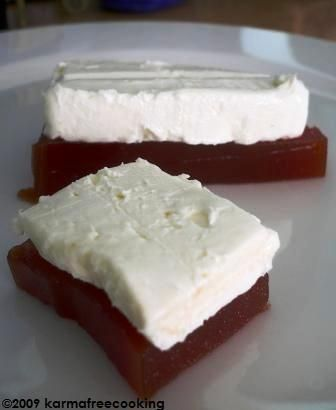 Guava Paste and Cream Cheese