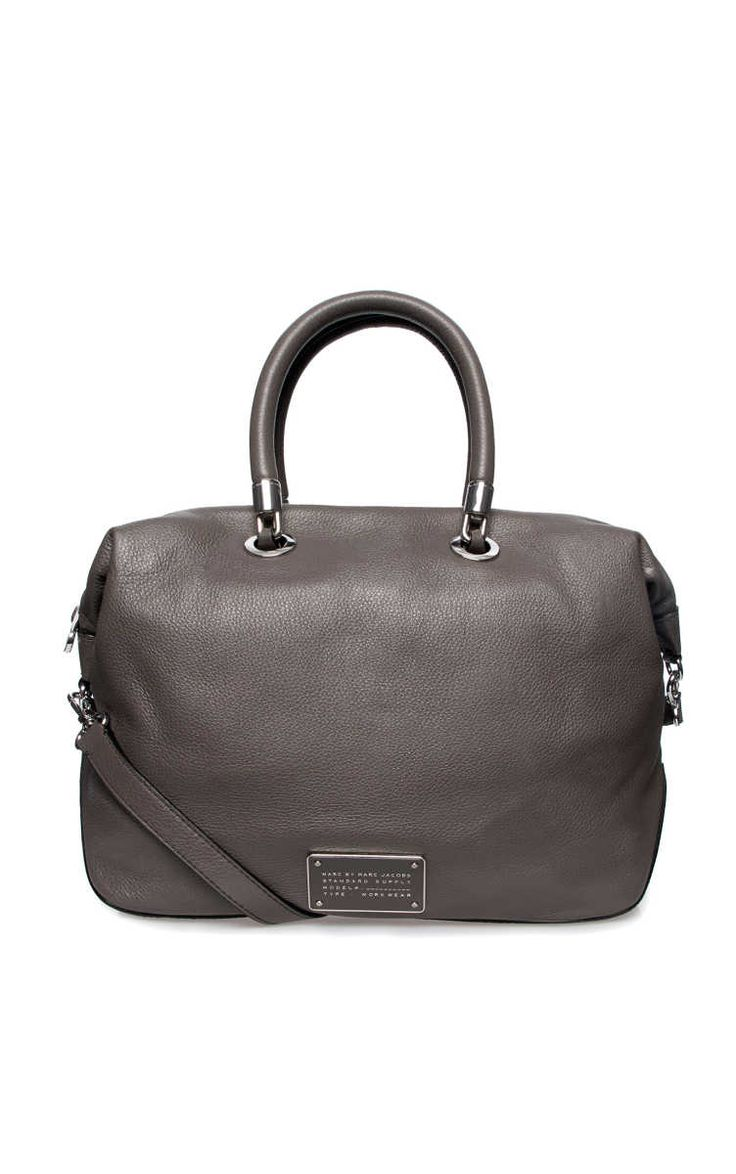 Handväska New Too Hot Handle TZ Satchel FADED ALUMINIUM - Marc by Marc Jacobs - Designers - Raglady