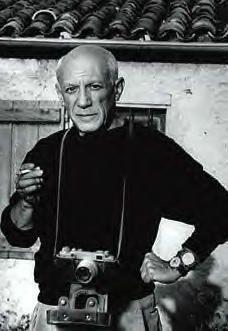 Pablo Picasso #celebs behind #camera