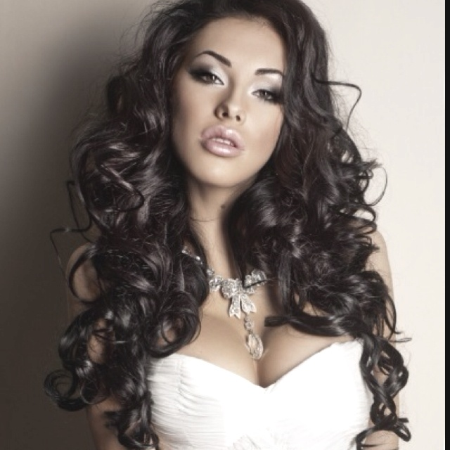 Big Untamed Curls Prom Hair My Style Pinterest Prom Hair Prom And Hair Makeup