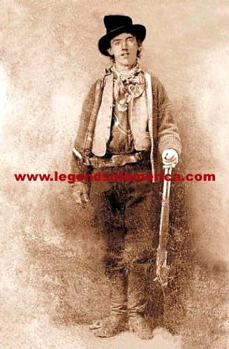 """Billy the Kid --''I wasn't the leader of any gang. I was for Billy all the time."""""""