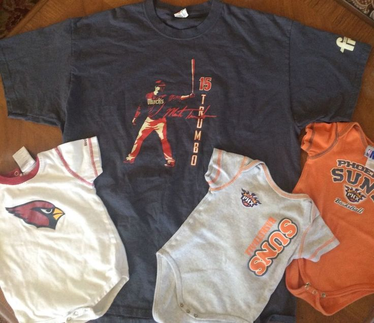 Phoenix Sports Apparel Lot Youth XL Dbacks Tshirt Baby Onesies Suns Cardinals | eBay
