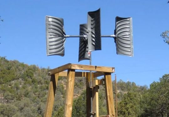 Easy Homemade Windmill Plans For Wind Power