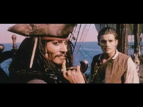 Fluch der Karibik / Pirates Of The Caribbean Trailer 1-4 (German) - YouTube