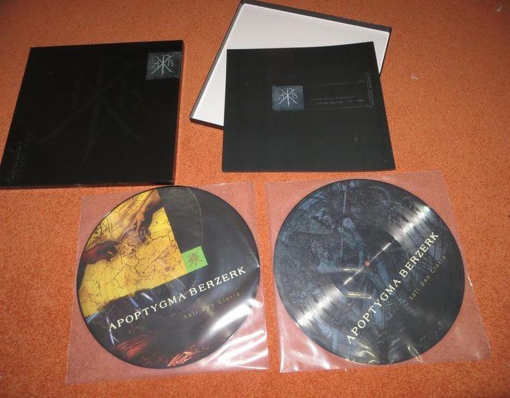 "Apoptygma Berzerk - Soli Deo Gloria / Picture Vinyl + Collector's Box (2x 12"")"