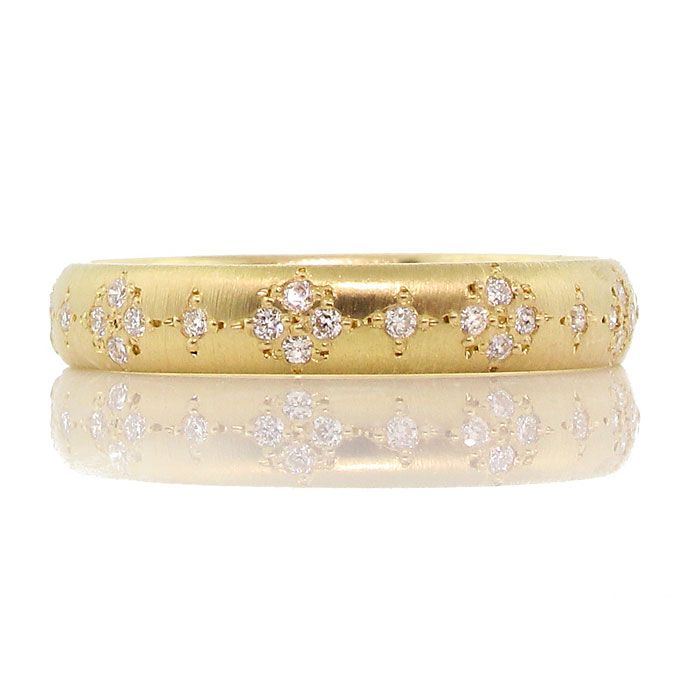 Brides: Yellow Gold Wedding Rings for Women | Engagement Rings | Brides.com