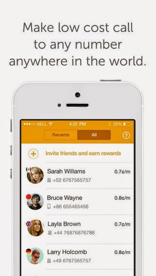 TechInStir - Technology and Business: Ringo - Low cost International calling app