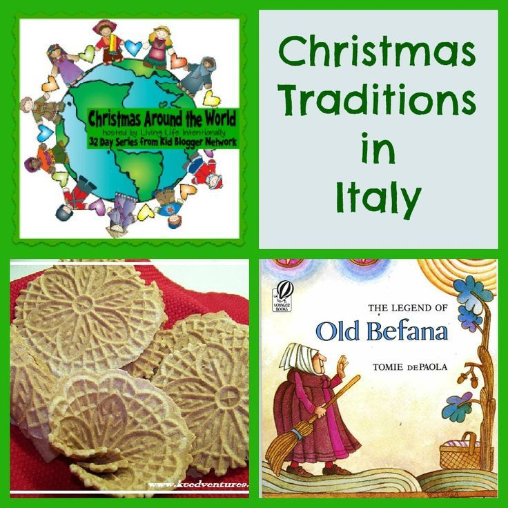 Christmas Traditions from Italy - free printable passport & activity book for kids for Christmas Around the World