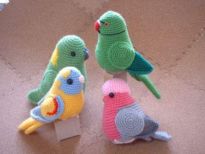 crochet amigurumi birds #Amigurumi #crochet