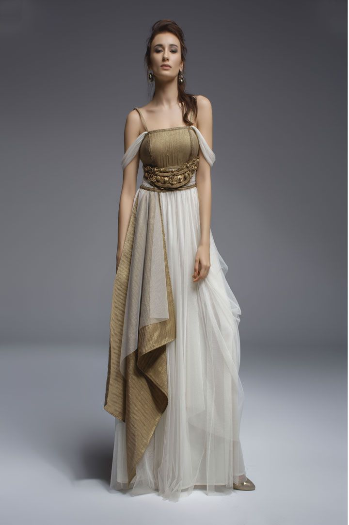 Evening dress (Grecian/Hellenistic) www.sharbet.com.tr ...