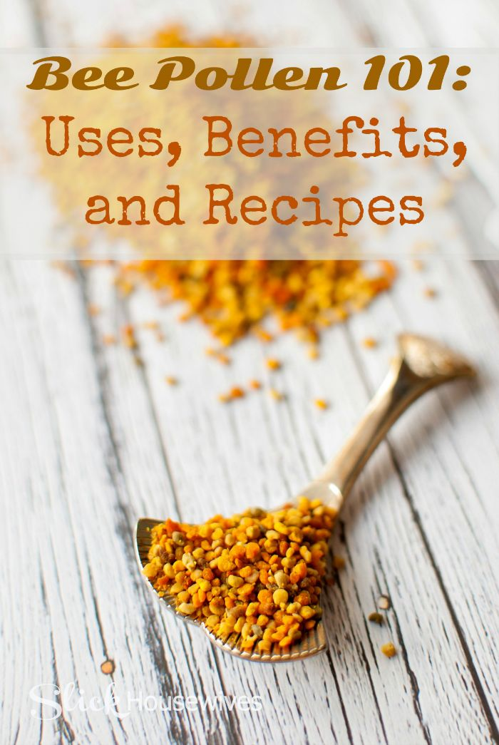 Bee Pollen for Energy, Weight Loss and Depression - http://slickhousewives.com/bee-pollen-for-energy-weight-loss-and-depression/ -  Did you know thatBee Pollen can be used for Energy, Weight Loss and Depression? I wonder why we don't hear more about this high-energy whole food?!  Bee Pollen 101 How to Use Bee Pollen Bee pollen can be added to juices, smoothies, or even eaten plain. However, the taste is one that  ...