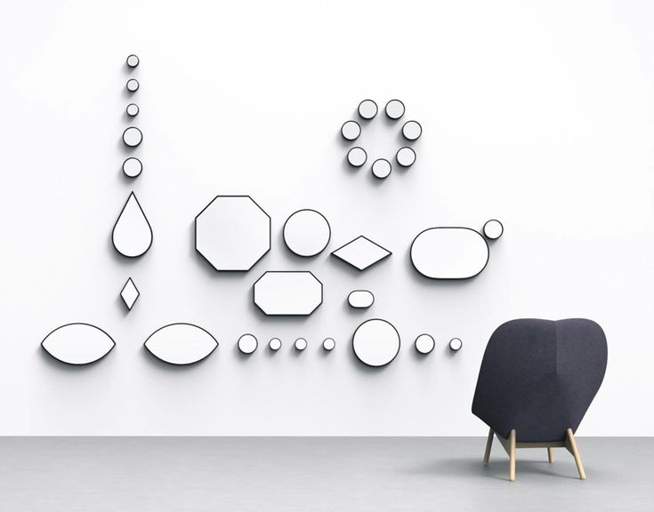 Mirrors by Doshi Levien for Hay