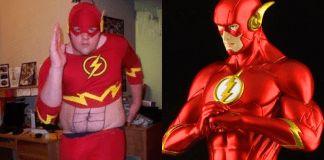 20 Personas que lucieron los peores disfraces de superhéroes