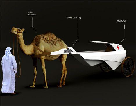 Camel + Ambulance = cambulance lol it's funny to me