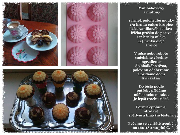 Minibábovičky a muffiny