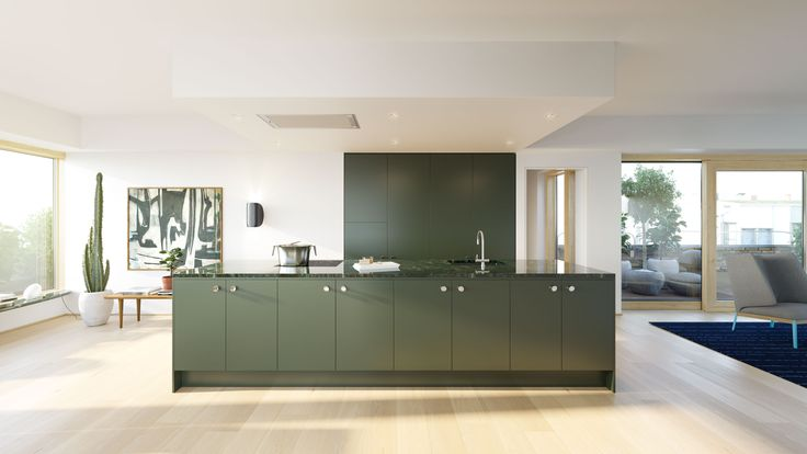 green kitchen - Obelisken 29, CKR