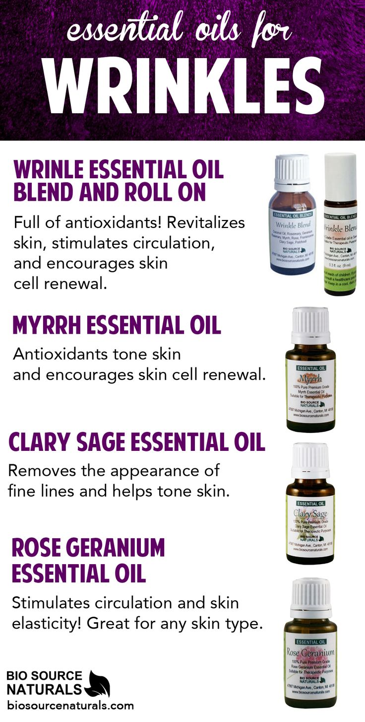 Revitalize your skin, encourage skin cell renewal, and hydrate and tone skin with these essential oils and blends which help reduce the appearance of fine lines and wrinkles.