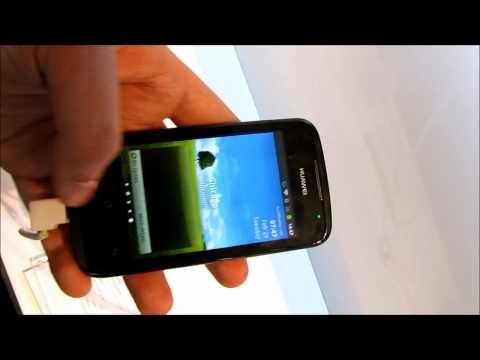 Huawei Ascend Y200 @ MWC2012