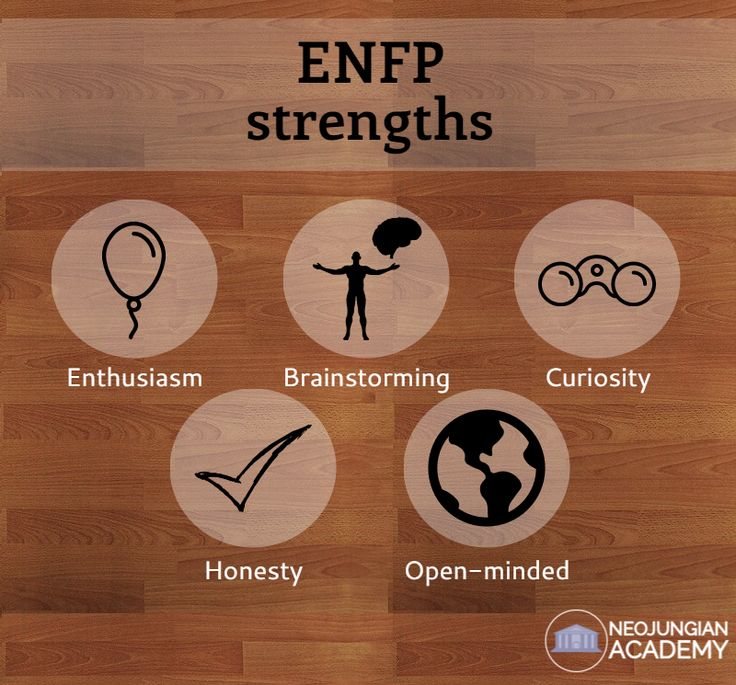 ENFPs and stress                                                                                                                                                                                 More