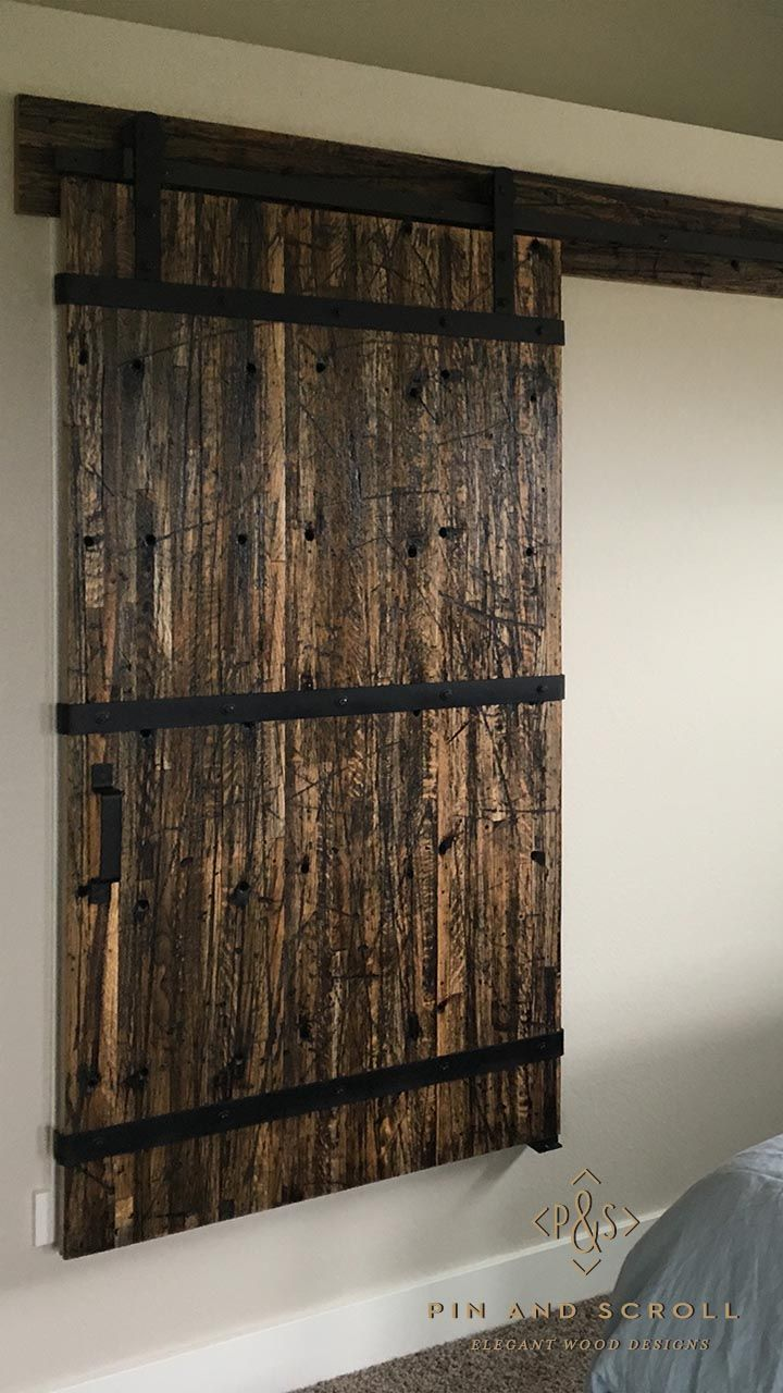 Stone fireplace with reclaimed bargeboard finish contemporary - Barn Door Made From Reclaimed Boxcar Flooring