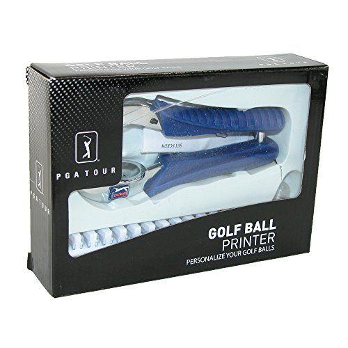 PGA Golf Ball Monogrammer Gift Set, Multi ** Click on the image for additional details.