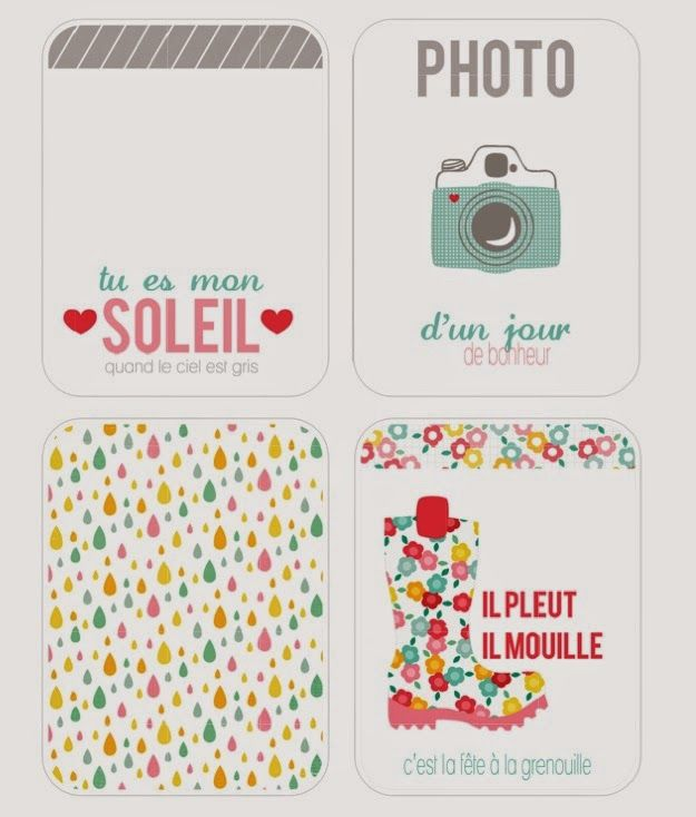 Free Hello Sunshine Filler Cards {available in both Silhouette and PDF format} from coeur de beurre