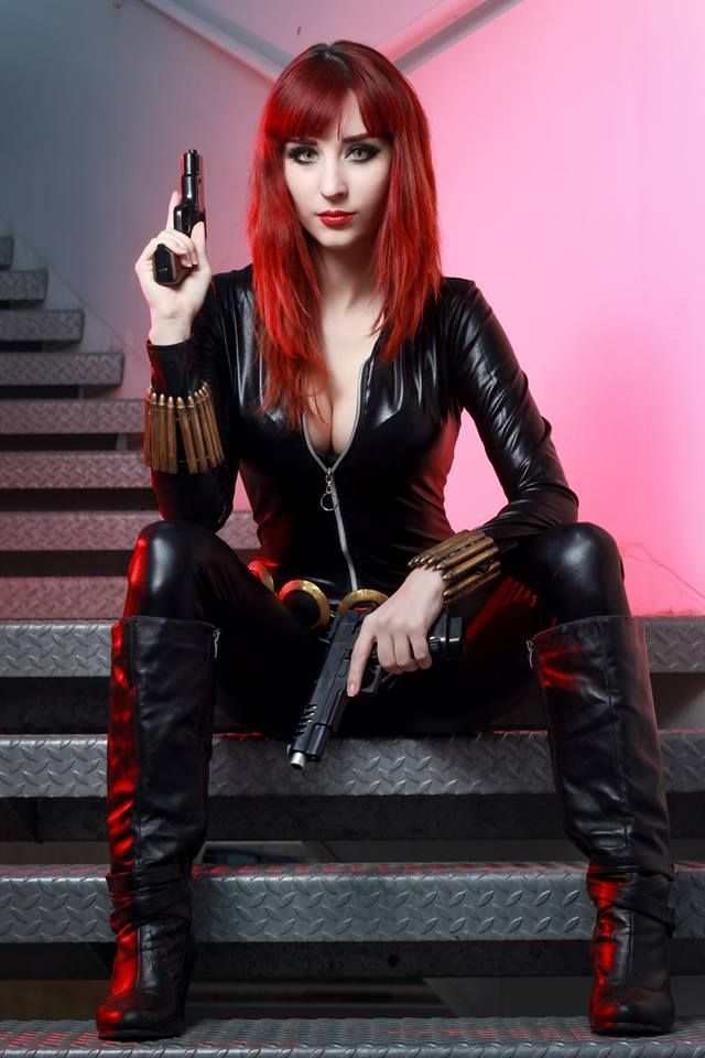 Illisia Cosplay - Black Widow - Cosplay  4800331f70ccf