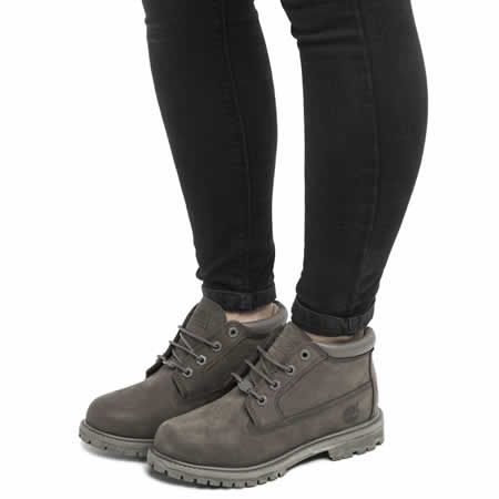 womens timberland grey nellie chukka double boots