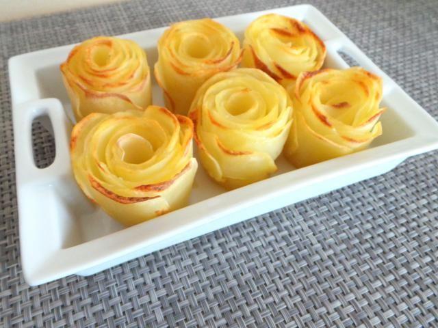 Roses de pommes de terre, Recette de Roses de pommes de terre par MyCulinaryCurriculum - Food Reporter