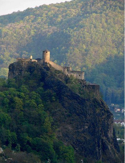 Střekov castle (North Bohemia), Czechia
