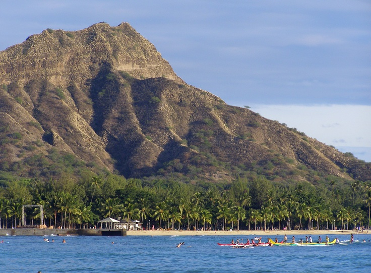 """""""Diamond Head"""" Boating, Waikiki, Oahu, Hawaii (October 16, 2006)"""
