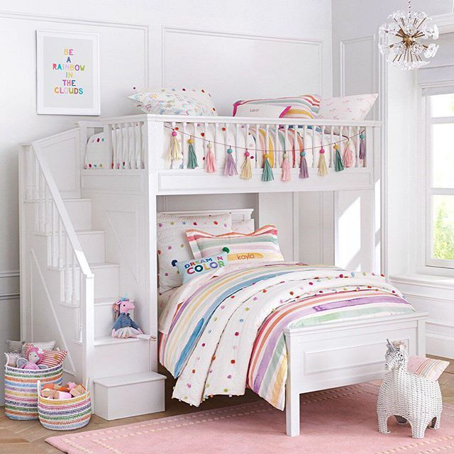 Pottery Barn Kids Potterybarnkids Instagram Photos And Videos Girl Bedroom Decor Kids Room Design Kid Room Decor