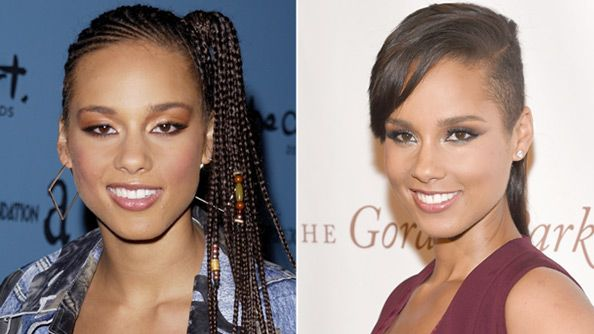 Alicia Keys Turns 34 Today! See the Songbird's Transformation #InStyle Mine too !!!