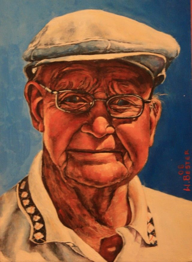 Willie Bester  Portrait 2