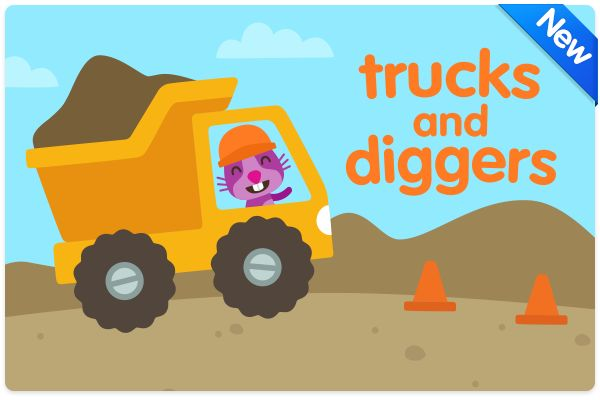 Read our thoughts behind our NEW preschool app Trucks and Diggers! http://www.sagosago.com/parents/trucksanddiggers/
