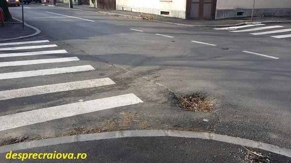 Strada Frații Golești din orasul Craiova a fost asfaltata cu aproximativ 3 luni in urma si s-ar parea ca lucrarea este finalizata
