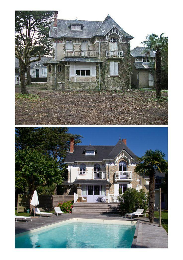 Marvelous Maison Renovee Avant Apres #9: Maison Rénovée Dans Le Pouliguen #avantapres