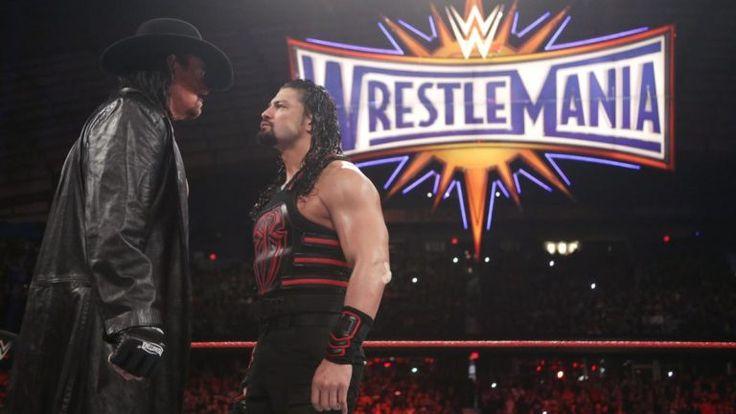 The Undertaker y Roman Reigns Cara a Cara previo a WWE WrestleMania 33 (06/03/2017) / WWE©